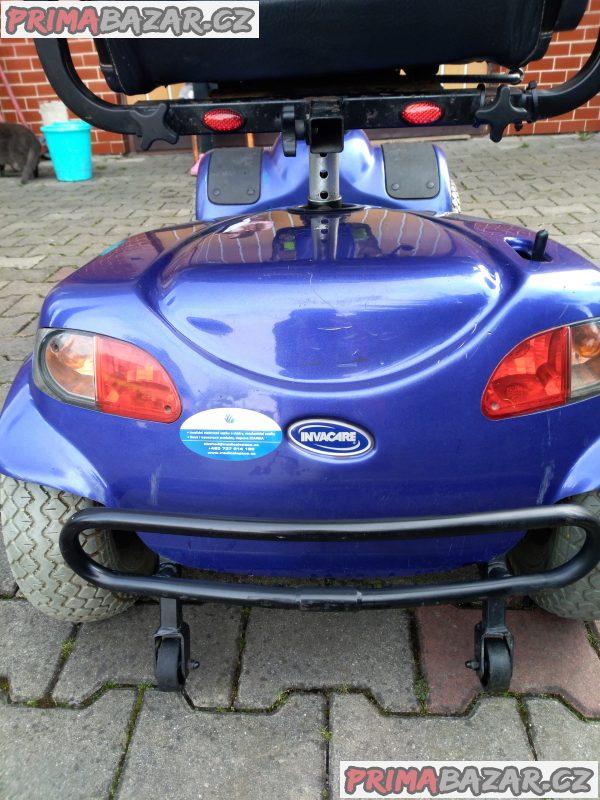 Elektrický invalidní vozík ctyrkolku