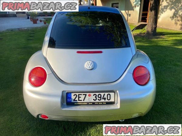 PRODÁM VW NEW BEEATLE 1,6 LPG, 74 kW