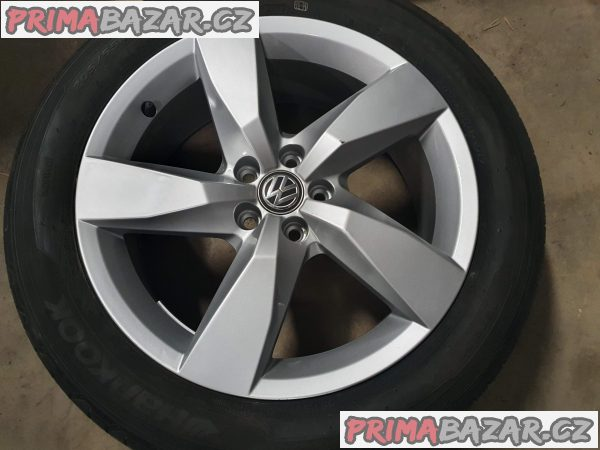orig. Volkswagen T Cross chesterfield 5x100 6,5x17 99% letni