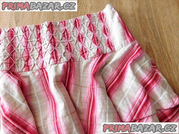 Dámská plátěná sukně-nová-vel.42