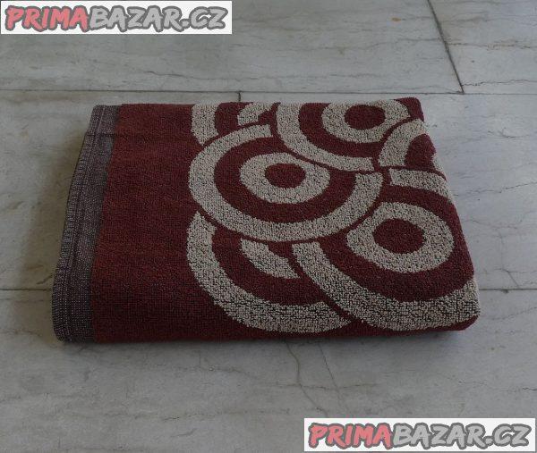 Osuška froté ze 100% bavlny velká 127x75 cm, nová