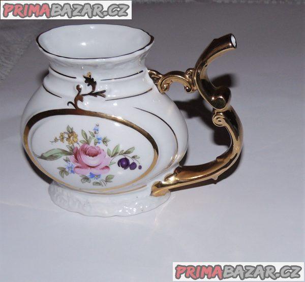 Porcelánový pohár s hrdlem 140x108x75 mm