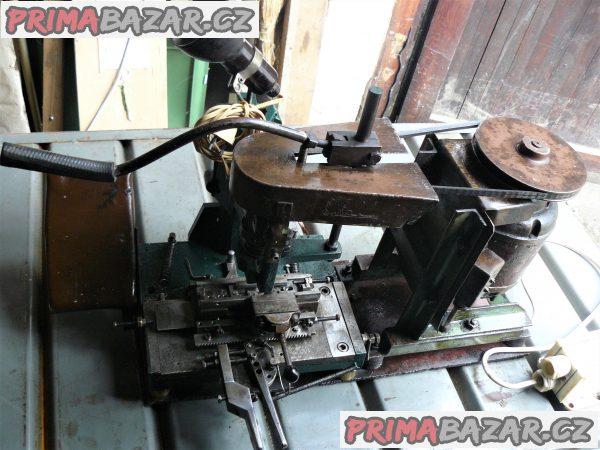 Jednoúčel. stroj- vrtání menších rozměrů v řadách