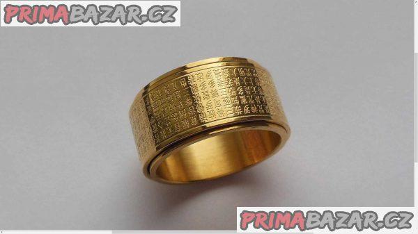 Náboženský prsten.