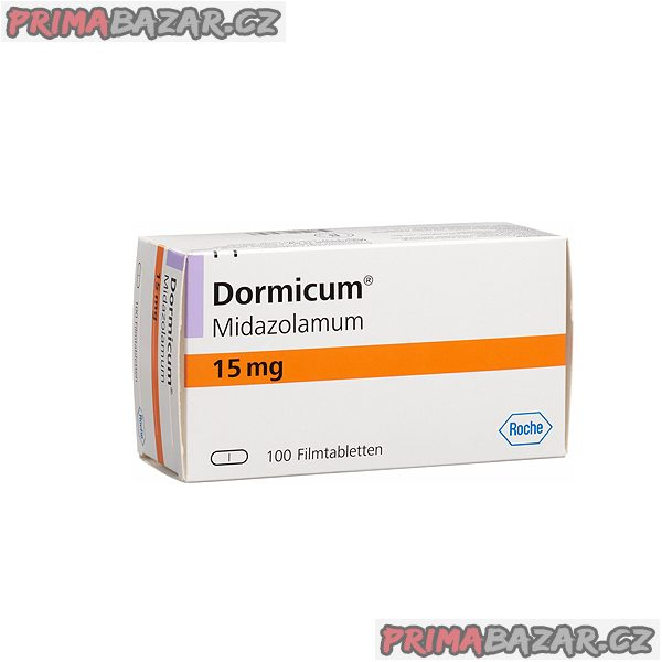 !!! Koupím DORMICUM 15 MG !!!