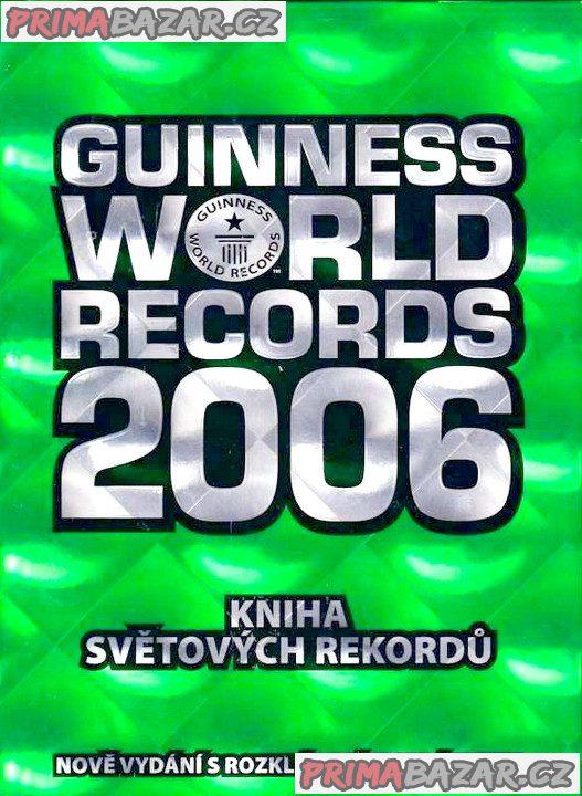 Zcela nová Guinnessová kniha rekordů za symbolickou cenu.