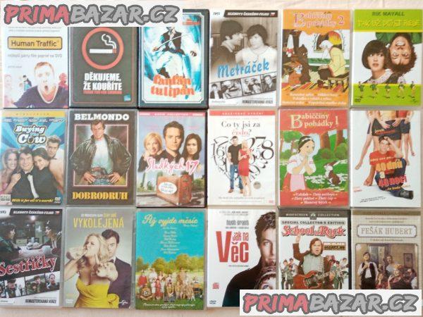Nove5.4.120orig. DVD kvalitních režisérů po 68 Kč