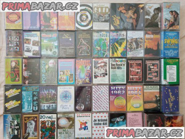 Originál MC kazety výběrů od 59 Kč