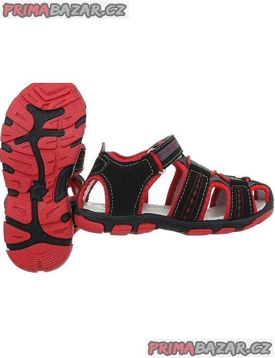 Chlapecké sandálky na léto-vel.35-Nové