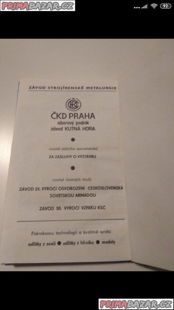 Slévárenská rocenka 1984