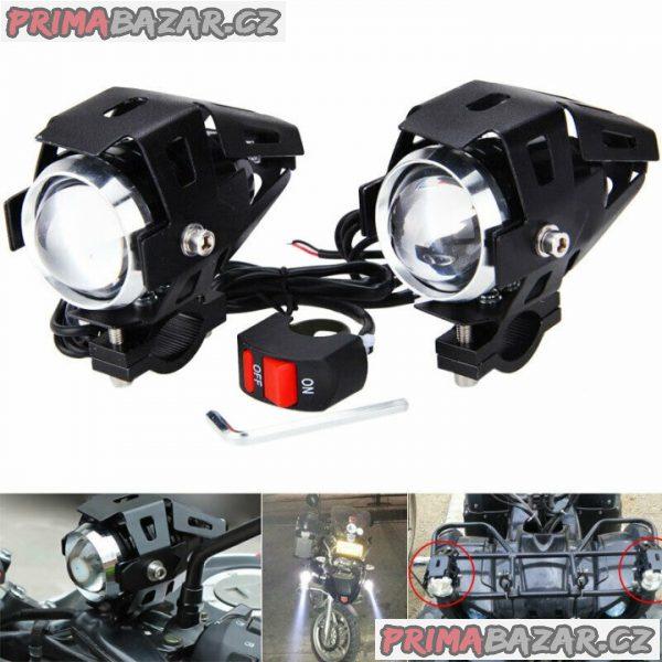 Supersilná led CREE U5 přídavná světla na moto / ATV / skútr.