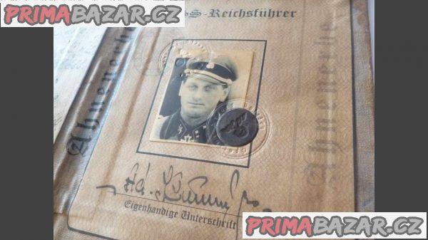 Průkaz Waffen SS