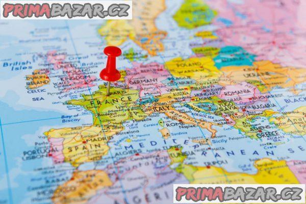 Hledám práci v Severní a Západní Evropě