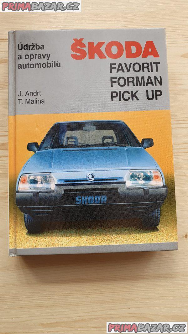 Údržba a opravy automobilů Škoda – Favorit, Forman, Pick Up
