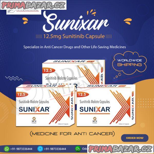 Koupit Sunixar 12,5mg tobolky online - Oddway International