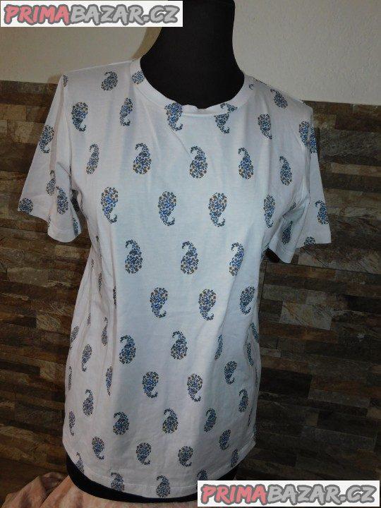 Dámské triko krátký rukáv-Nové-vel.38