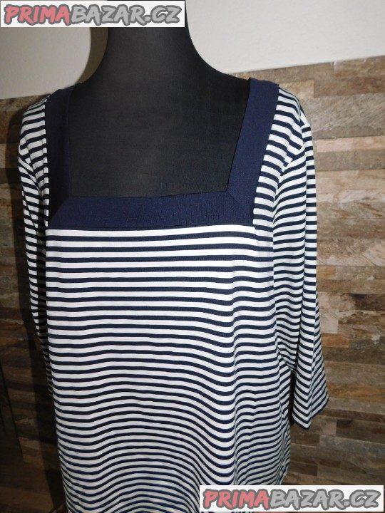 Dámský top-triko-Nové-vel.52