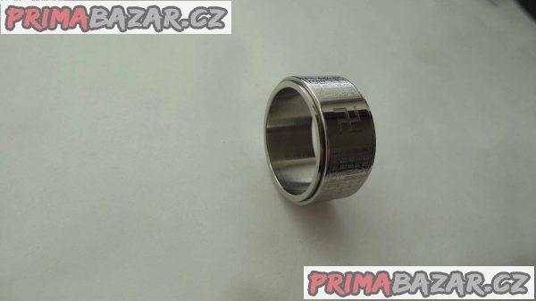 Náboženský prsten, stříbrný
