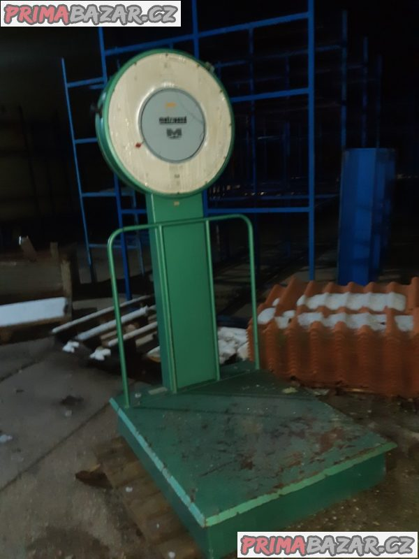 Průmyslová váha Metripond 500 kg