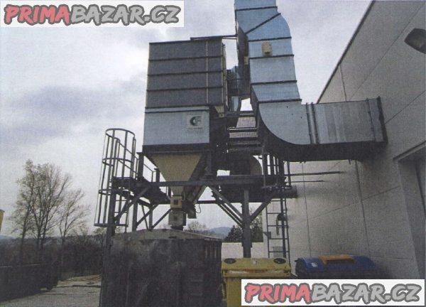 Odsávací a filtrační zařízení Cipres pro truhlářskou výrobu.