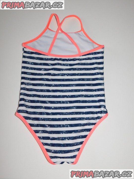 Dívčí jednodílné plavky-nové-vel.134/140