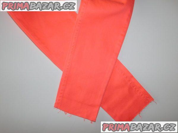 Dívčí elastické kalhoty-skinny-nové-vel.164
