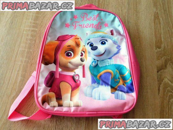 Dětský dívčí licenční batoh-Paw Patrol-Nový