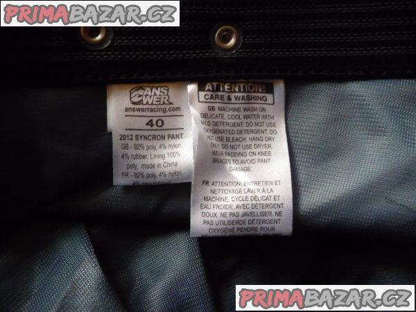 Motokrosové kalhoty ANSWER