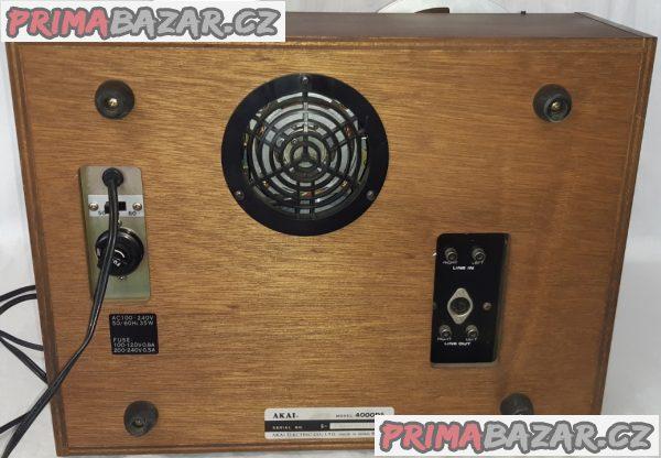Stereo Tape Deck -  AKAI 4000 DS