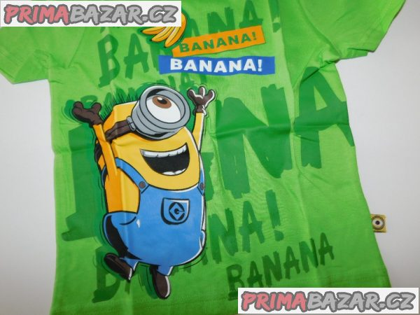 Chlapecké bavlněné triko-Nové-Mimoni-vel.104
