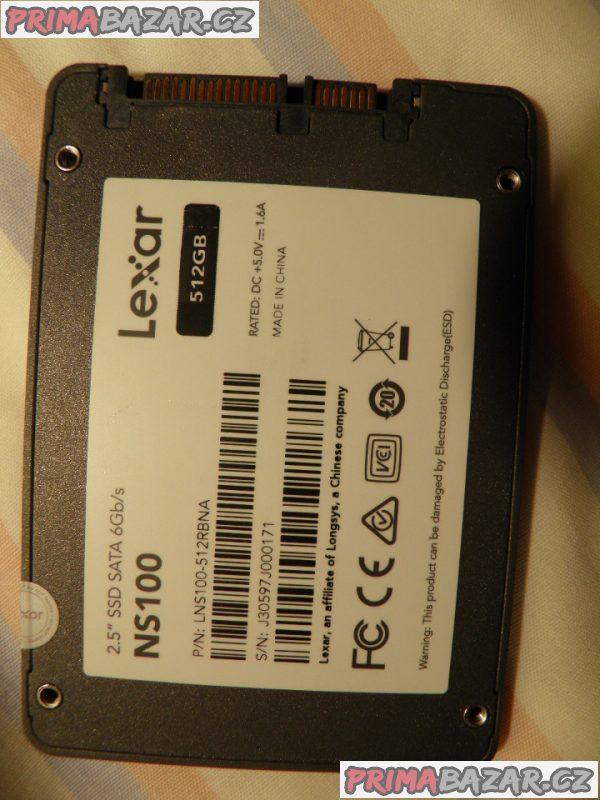 SSD disk Lexar 512GB