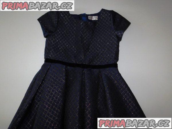 Dívčí společenské šaty-Nové-vel.140