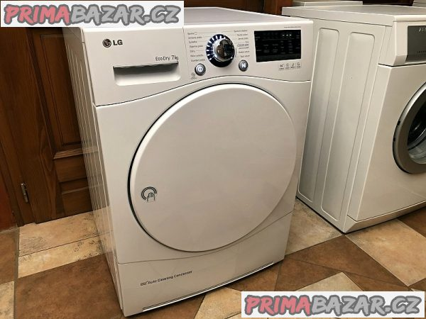 Sušička prádla LG RC7055AH6M, TEP. ČERPADLO až na 7 kg