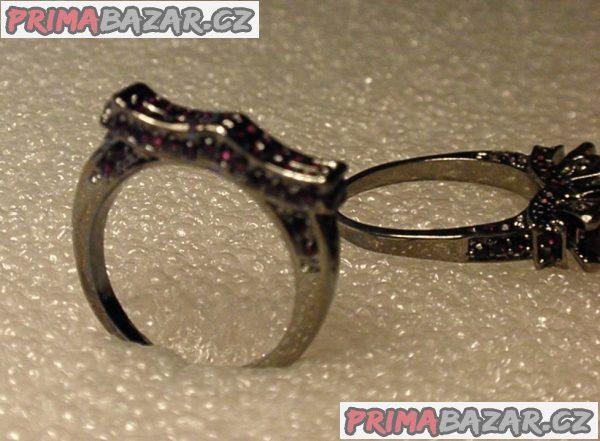 Prsteny s ametysty (Cz) B6.
