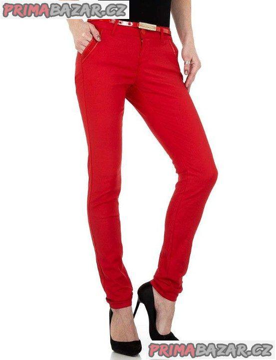 Dámské elastické kalhoty-Nové-vel.30