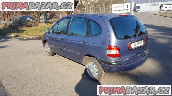 Renault Megane Scenic 1.6i, r.v 2000, najeto 200ti