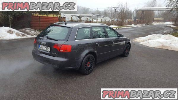 Audi A4 B7 2.0tdi 103kw combi, r.v 2007, stk plat